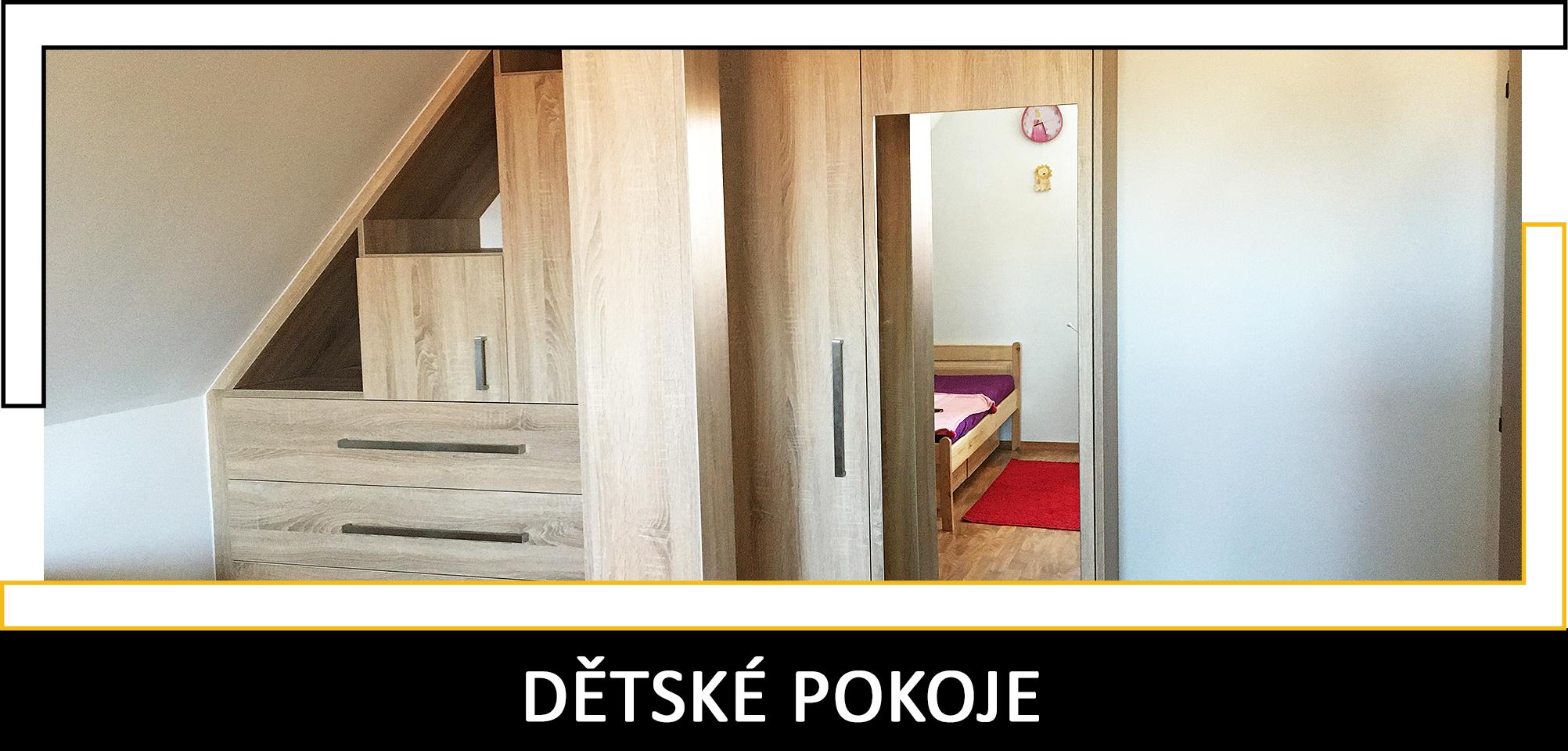 Dětské pokoje Truhlářství Petráš