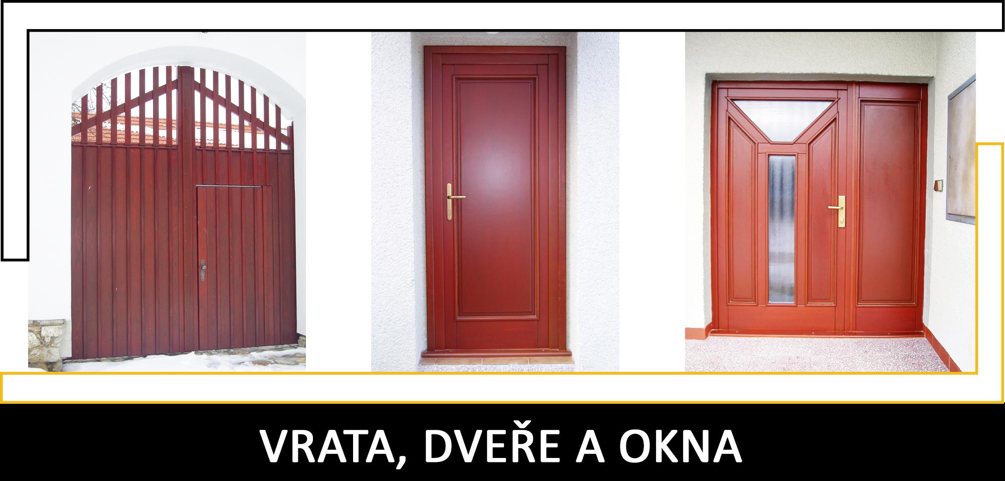 Vrata, dveře a okna Truhlářství Petráš